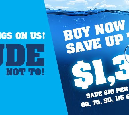 Evinrude Etec It would be rude savings - Coffs Harbour Marine